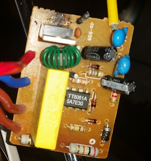 fridge circuit board
