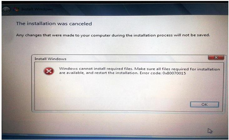 Win 8 Preloaded Laptop repaired for no media present error