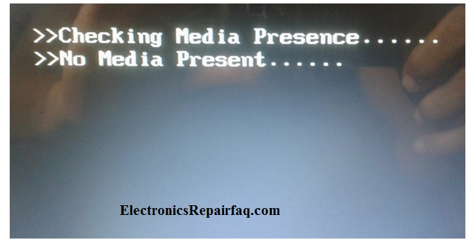 no media present