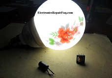 repairing cfl bulb