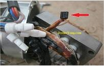 fan motor temperature fuse check