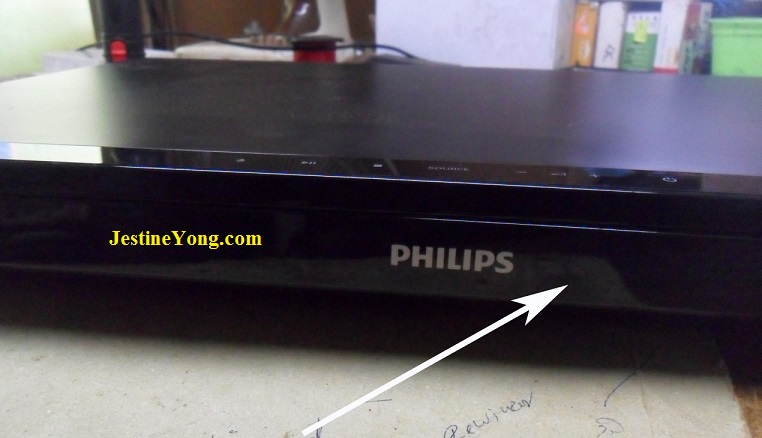 no power in philips dvd player