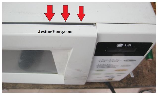 microwave oven lock repair
