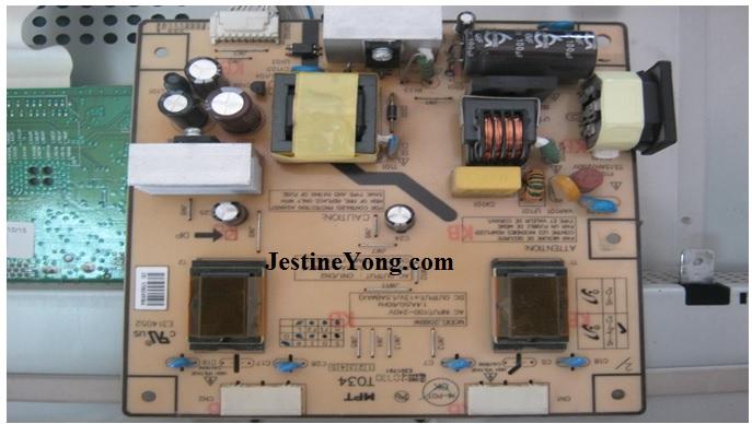 lcd monitor circuit board