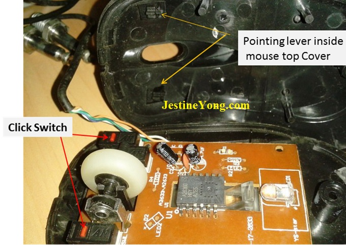 how to fix and repair mouse