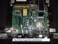 KONKA led tv power supply and mainboard