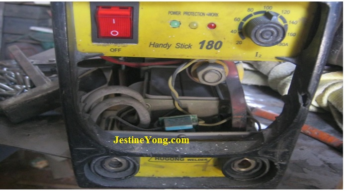 A Problem With The Welding Inverter Repaired  Model Handy Stick 180