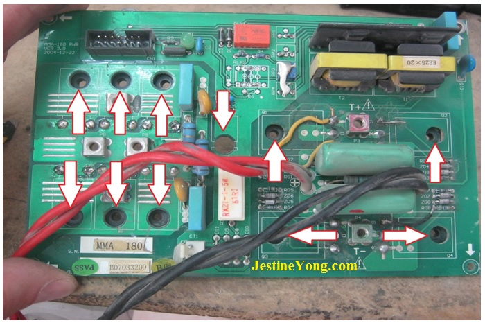 A Problem With The Welding Inverter Repaired  Model Handy
