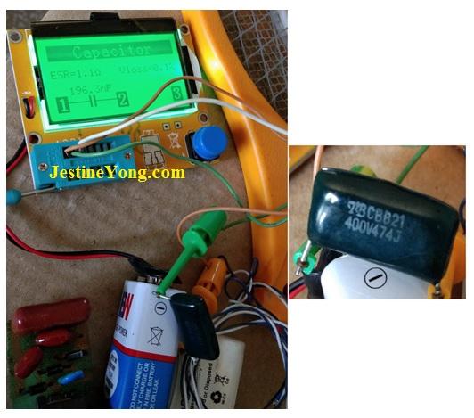 Mosquito Racket Repaired | ElectronicsRepairFaq com